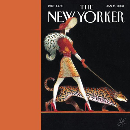 The New Yorker (January 21, 2008) audiobook cover art