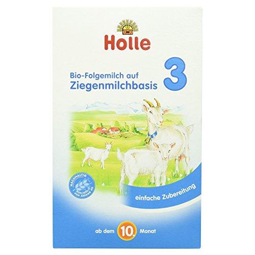 Holle Bio-Folgemilch 3 auf Ziegenmilchbasis, 400g