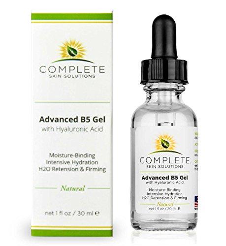 Advanced B5 Hydrating Gel With Hyaluronic Acid-1 oz Moisturizing & Hydrating Face Serum For Skin Rejuvenation