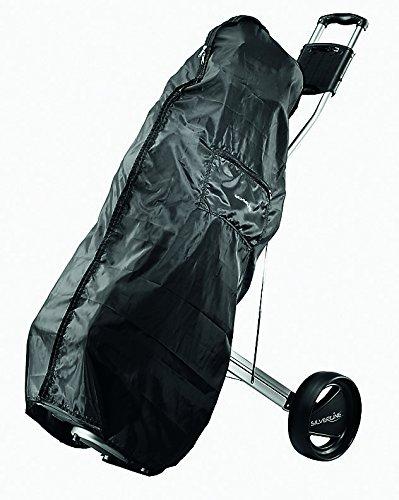 KILLAGOLF by Silverline REGENCOVER - Regenschutz | schwarz | für Golfbag/Golftrolley mit Reißverschluß | passend für alle Golfbags auf jeden Trolley …