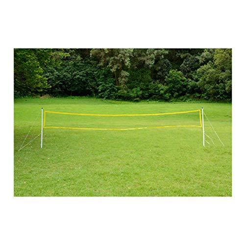 YUNFEILIU Tragbares Beach-Volleyball-Badminton-Netz 500 * 50 cm