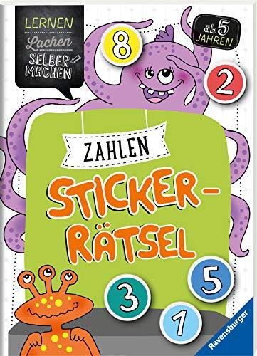 Zahlen-Sticker-Rätsel (Lernen Lachen Selbermachen)