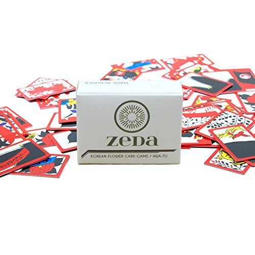 ZEDA International Korean Flower Card Game / Hwatu / Go-Stop / Godori