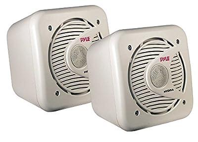 PYLE 5.25-Inch 150 Watt Two-Way Shielded Marine Water Proof Speakers