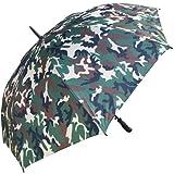 RainStoppers W017 Auto Open Umbrella, 60-Inch (Camouflage)