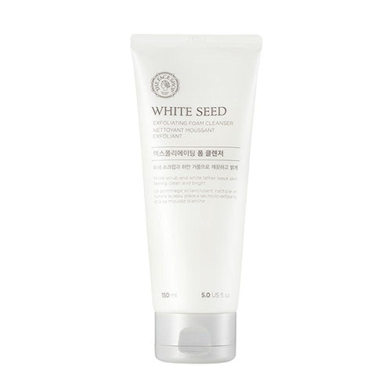 ポジティブステートメント付録[ザフェイスショップ] The Face Shop ホワイトシードエクスフォリエイティングクレンザー(150ml) The Face Shop White Seed Exfoliating Foam Cleanser(150ml) [海外直送品]