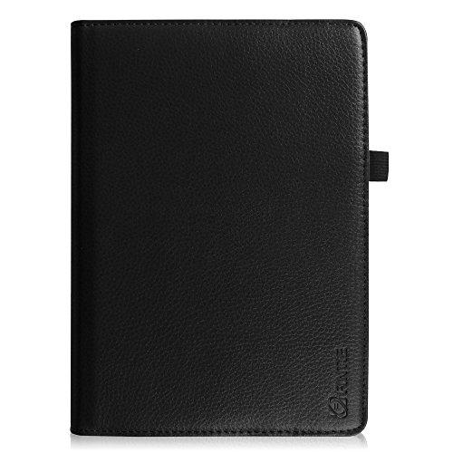 Fintie iPad 9.7 Zoll 2017 / iPad Air Hülle – 360 Grad Rotierend Stand Smart Cover Case Schutzhülle mit Auto Schlaf / Wach Funktion für Apple iPad 2017 Neue Modell / iPad Air 2013 Modell, Schwarz - 6