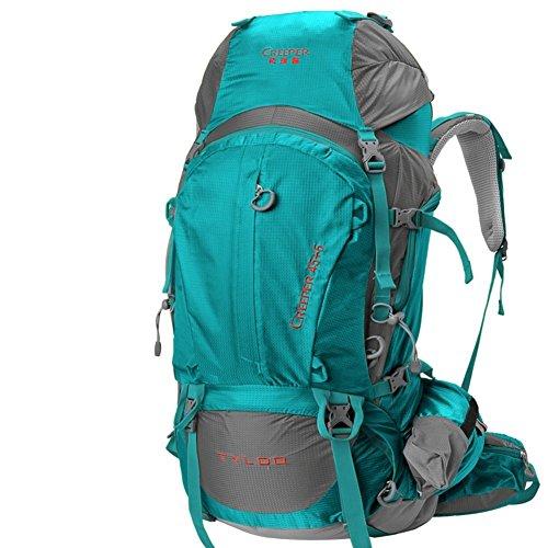 Sincere® Package / Sacs à dos / portable sac / sac à dos / de Voyage en plein air / Ultraléger extérieure épaule d'alpinisme 50L-vert 70L