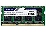 Timetec Hynix IC compatible with Apple 4GB DDR3 1600MHz PC3-12800 SODIMM Memory Upgrade For MacBook Pro, iMac,Mac mini/ Server (4GB)