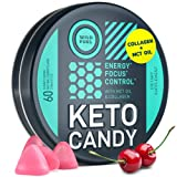 Guilt-free ketosis support. Delicious sugar free, pre-workout, cherry flavored chews that help you get the most out of your workout without compromising a ketogenic diet. Not for weight control. Clean energy. Extremely low carb gummies, rich in MCT f...