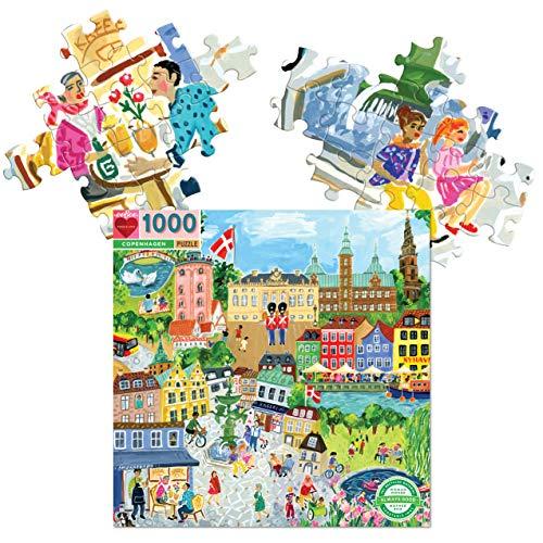 eeBoo Copenhagen - Puzzle de 1000 piezas para adultos