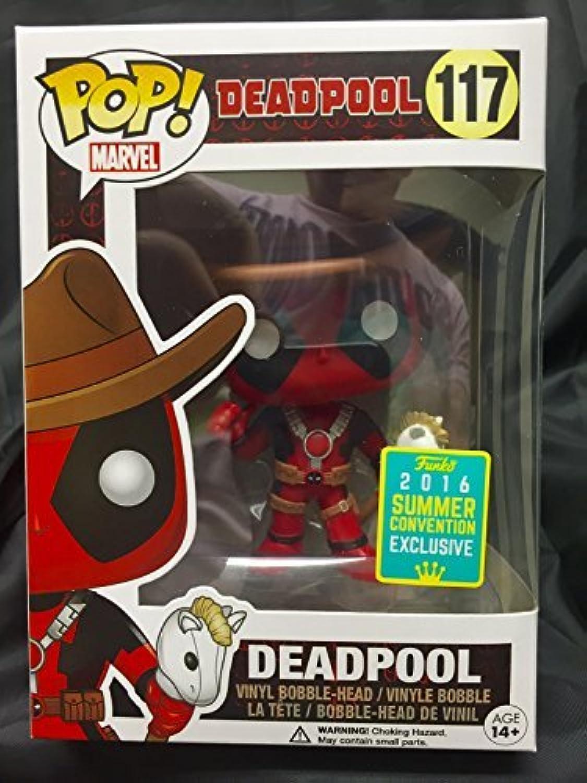 Deadpool Deadpool Cowboy Vinyl BobbleHead 117 Bobblehead Standard by Deadpool