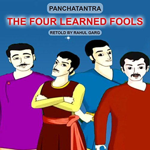 The Four Learned Fools audiobook cover art