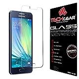 TECHGEAR Galaxy A3 Verre, Protecteur d'Écran Original en Verre Trempé Compatible pour Samsung...