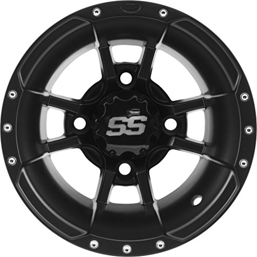 ITP SS112 Sport Wheel 10x5 3+2 4/144 Black for Honda Kawasaki SUZ