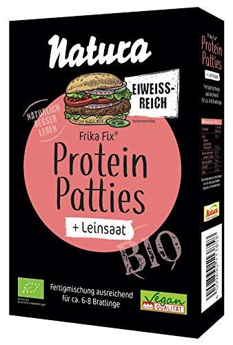 NATURA Frika Fix Bio Protein Patties Leinsaat, 150 g, 385