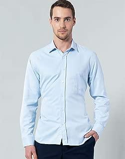 Klasik Fit Mavi Erkek Gömlek