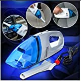 rjd Portable 12-V Car Multipurpose Wet and Dry Vacuum Cleaner (Material : Plastic)