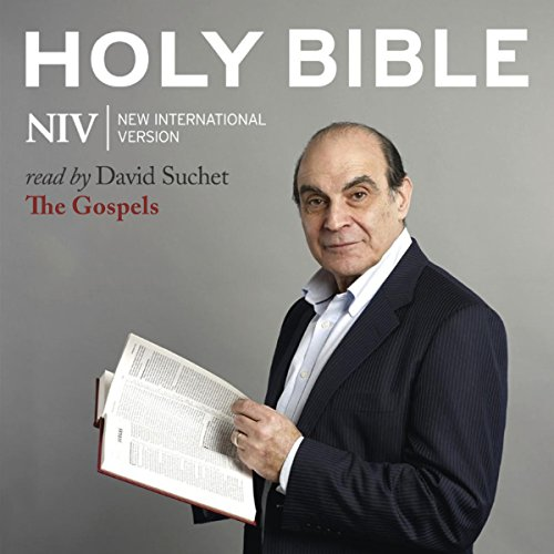 The NIV Audio Bible, the Gospels audiobook cover art