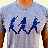 Griffey. Ken Griffey jr. tri-blend mens/unisex shirt