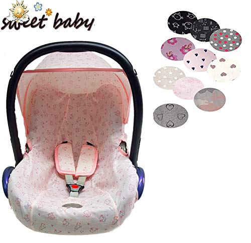 Sweet Baby ** HOODY 100% Jersey Fit ** Capote universelle pour Maxi-Cosi Cabrio, Pebble et autres