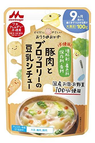 森永 おうちのおかず 豚肉とブロッコリーの豆乳シチュー 9ヶ月頃から×12袋