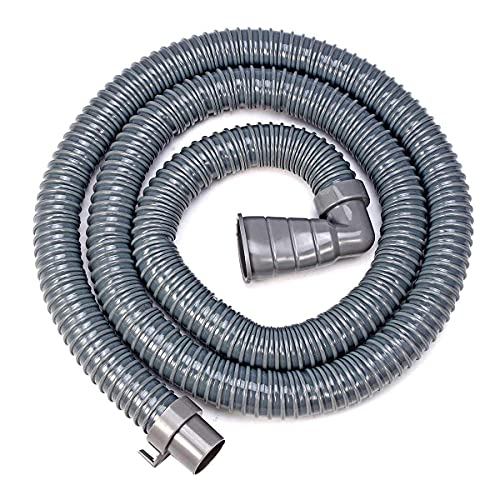 Manguera de desagüe Universal de PVC para Lavadora de 2/3/4/5 M, Manguera de desagüe para lavaplatos, Tubos de extensión Flexibles para lavavajillas, Lavadora