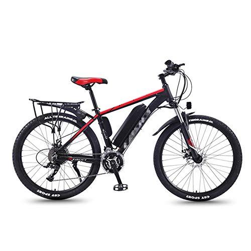 JIEER 26'' Elektro-Mountainbike für Erwachsene, 30-Gang-MTB-E-Bikes Und DREI Arbeitsmodi, All Terrain Commute Fat Tire Ebike für Männer Damen Damen