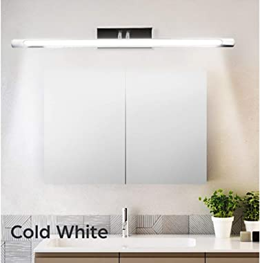 Luxvista LED Vanity Light - Adjustable Bathroom Mirror Front LED Lamp 24.8 Inch 9W 120V with US Plug Over Mirror Wall Mounted