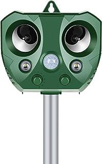 Elikliv Solar Power Pest Animal Repeller PIR Motion Sensor Bird Possum Repellent