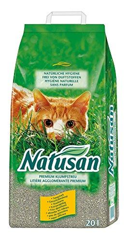 Natusan 111129 Premium Klumpstreu, 20 L