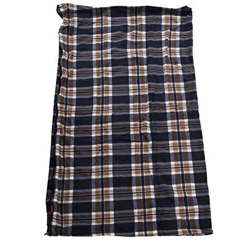 Tomanbery Excursión Cama Simple Adultos Fleece Saco de Dormir Camper Adultos