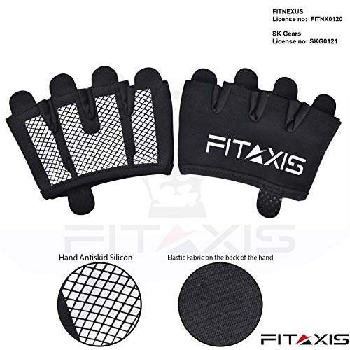 FITAXIS Calleras para Crossfit, Freeletics, Calisthenics y Gimnasia - Protección para Tus...