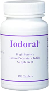 OPTIMOX Iodoral IOD 12.5 High Potency Iodine Potassium Iodide Thyroid Support Supplement