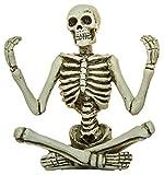 Ganz Zen Skeleton Figurines in Various Meditation Poses (Meditation B)