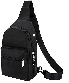 G7Explorer Light Breathable Chest Bag Sling Shoulder Backpack with USB Port