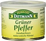 Feinkost Dittmann Grüner Pfeffer extra weich, 3er Pack (3 x 100 g)