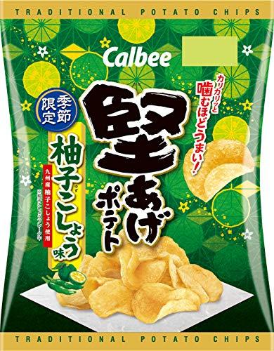 堅あげポテト 柚子こしょう味 12袋