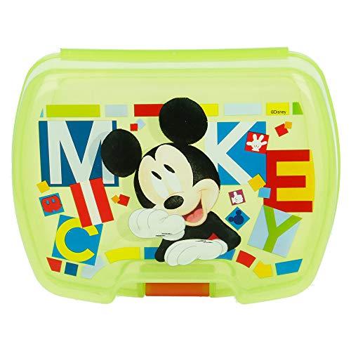 Stor SANDWICHERA Premium Mickey Mouse - Disney - Watercolors
