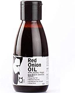 QRAA Red Onion Oil With Black Seed Oil, Cold Pressed, 100Ml