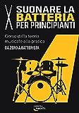 suonare la batteria per principianti: corso dalla teoria musicale alla pratica: da zero a batterista