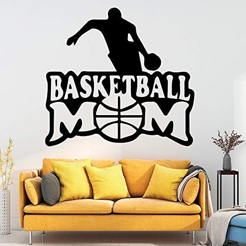 wZUN Basketball Wandkunst Aufkleber Dekoration Baby Kinderzimmer Dekoration Mode Wandtattoos Wohnaccessoires 36x38cm