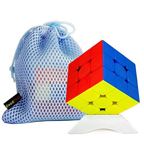 OJIN Ganspuzzle 356 MG Monster Go Series Versión 3x3 M Sin Etiqueta Factor de dificultad 3 Puzzle Cube 356 MG3 Cube Puzzle con un trípode de Cubo y una Bolsa de Cubo (M Stickerless)