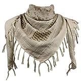 Explore Land Cotton Shemagh Tactical Desert Scarf Wrap (Desert Camo)