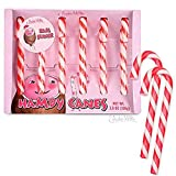 Archie McPhee Wacky Novelty Candy Canes, 6 Canes (Ham)