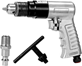 KKmoon Taladro Neumático Reversible,Herramientas Neumáticas Profesionales Rotación de Alta Velocidad 3/8