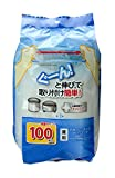 ストリックスデザイン ストッキング水切りネット 白 320×330mm 抗菌 三角コーナー 深型 兼用 増量 SA-092 100枚入