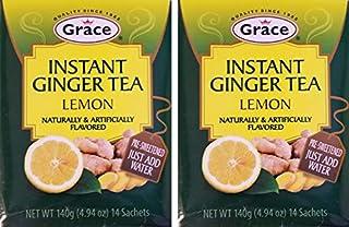 GRACE INSTANT GINGER TEA LEMON 2PK (28 SACHETS)