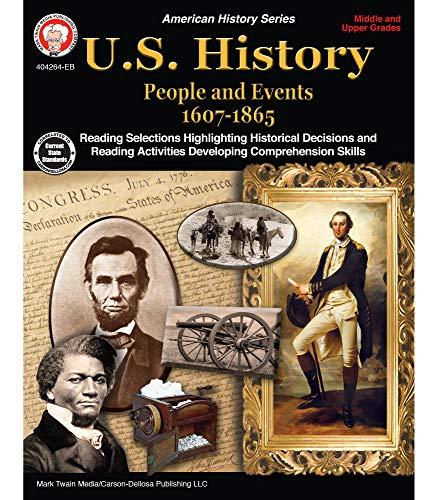 Mark Twain Media   US History 1607–1865 Resource Workbook   6th–12th Grade, 96pgs