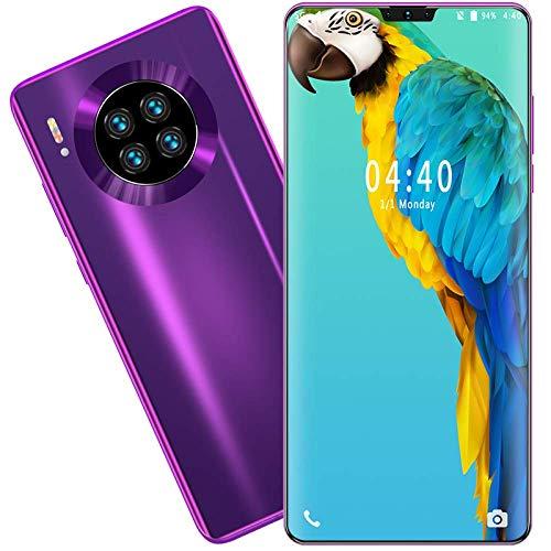 Smartphone Mate39, Mtk6799, Pantalla de 6.7 Pulgadas HD + Bangs, resolución 1440 * 3040, 5G, 8Gb + 512Gb 13Mp + 24Mp Batería 4800Mah, Desbloqueo Facial, Android 10.0
